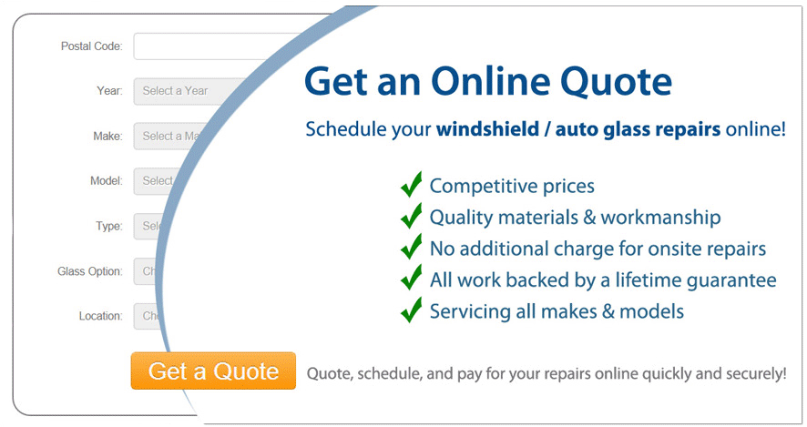 Get an Online Quote for Windshield / Auto Glass